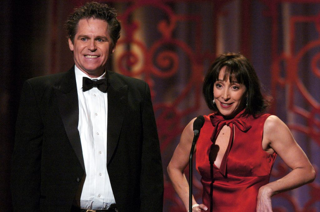 Jeff Conaway (Kenickie) and Didi Conn (Frenchy) in 2004