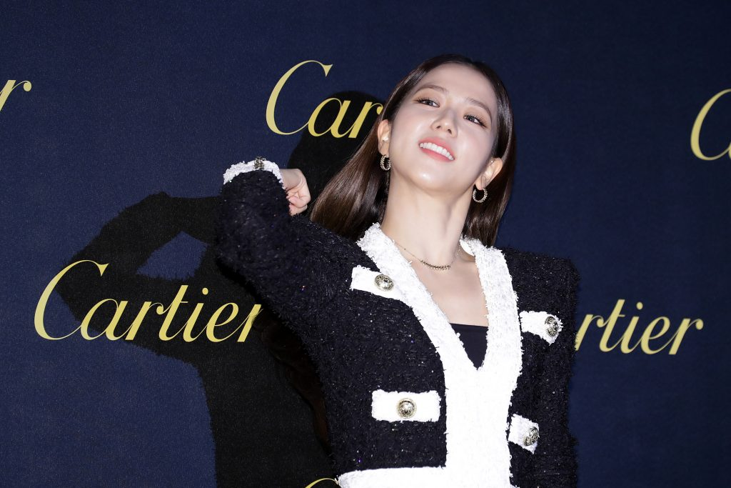Jisoo of South Korean girl group BLACKPINK attends the Photocall for 'Cartier'