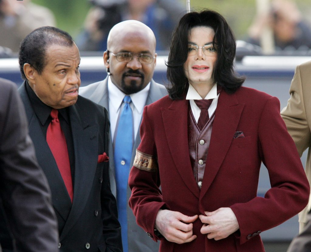 Michael Jackson and Joe Jackson