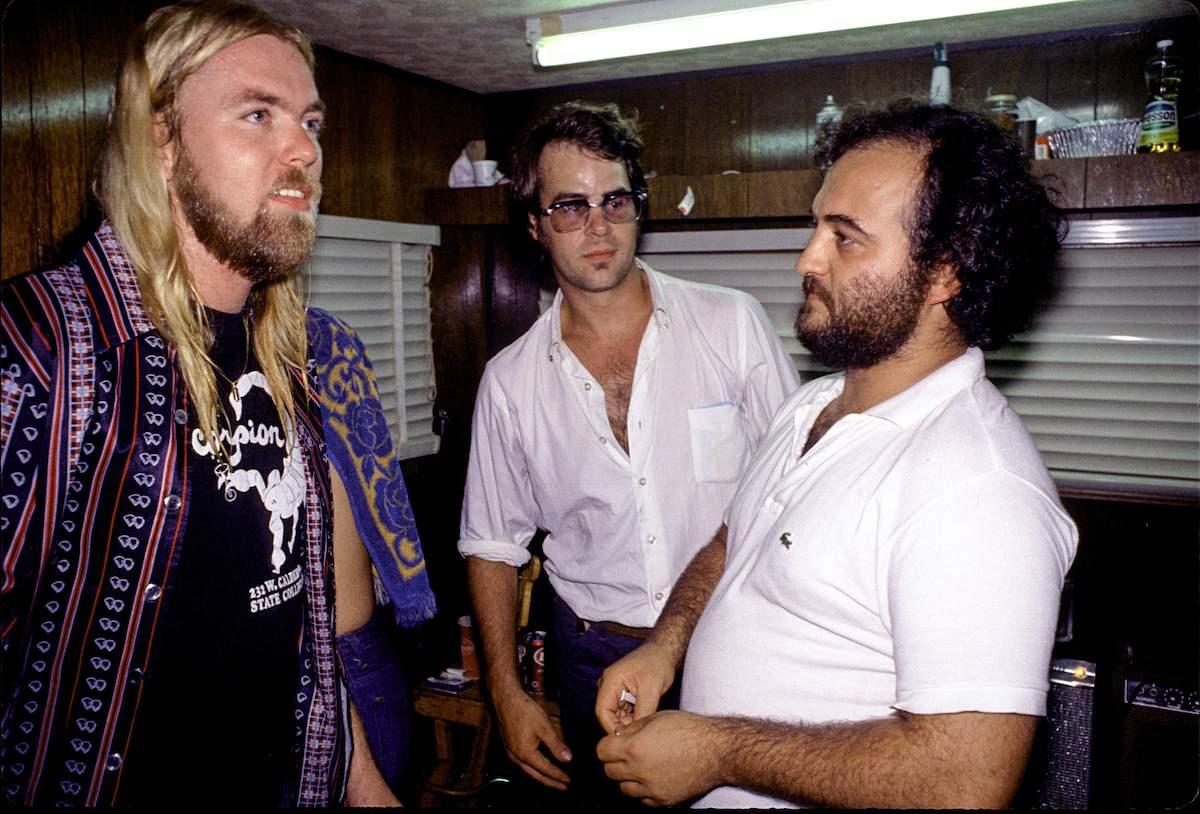 Gregg Allman with Dan Ackroyd & John Belushi