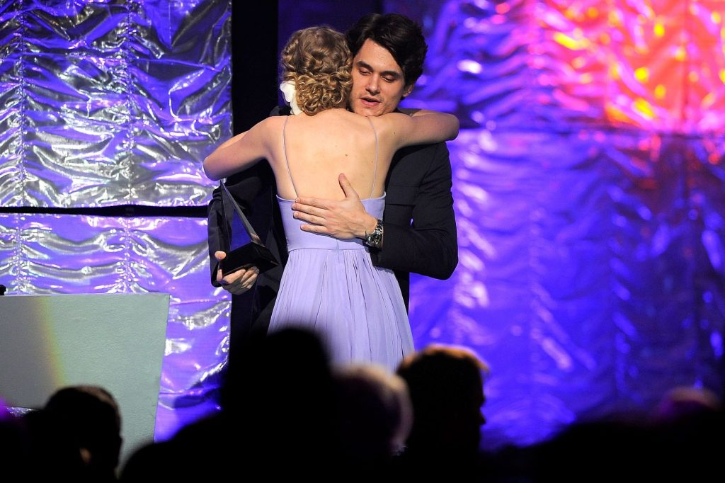 John Mayer and Taylor Swift in June 2010