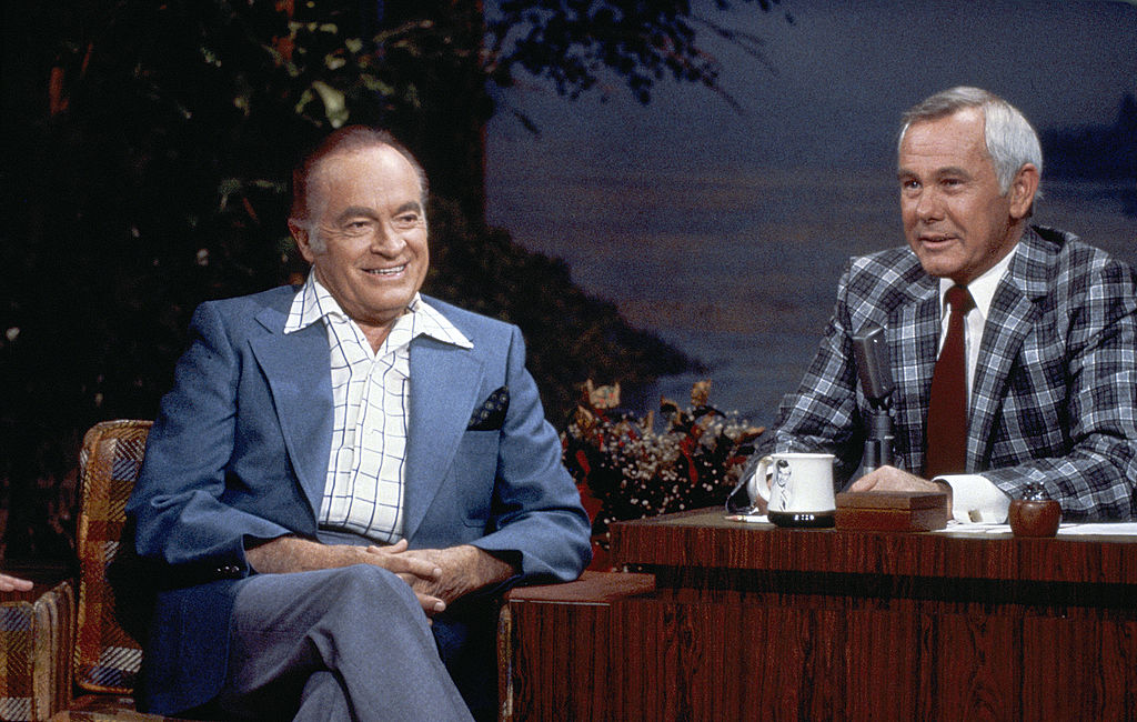Bob Hope and Johnny Carson on The Tonight Show