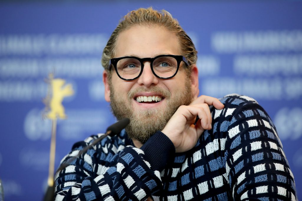 """Jonah Hill attends the """"Mid 90's"""" press conference during the 69th Berlinale International Film Festival Berlin"""