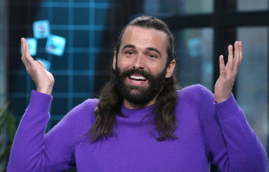 "Jonathan Van Ness attends the Build Series to discuss his new book ""Over the Top: A Raw Journey to Self-Love"" at Build Studio on September 25, 2019 in New York City."