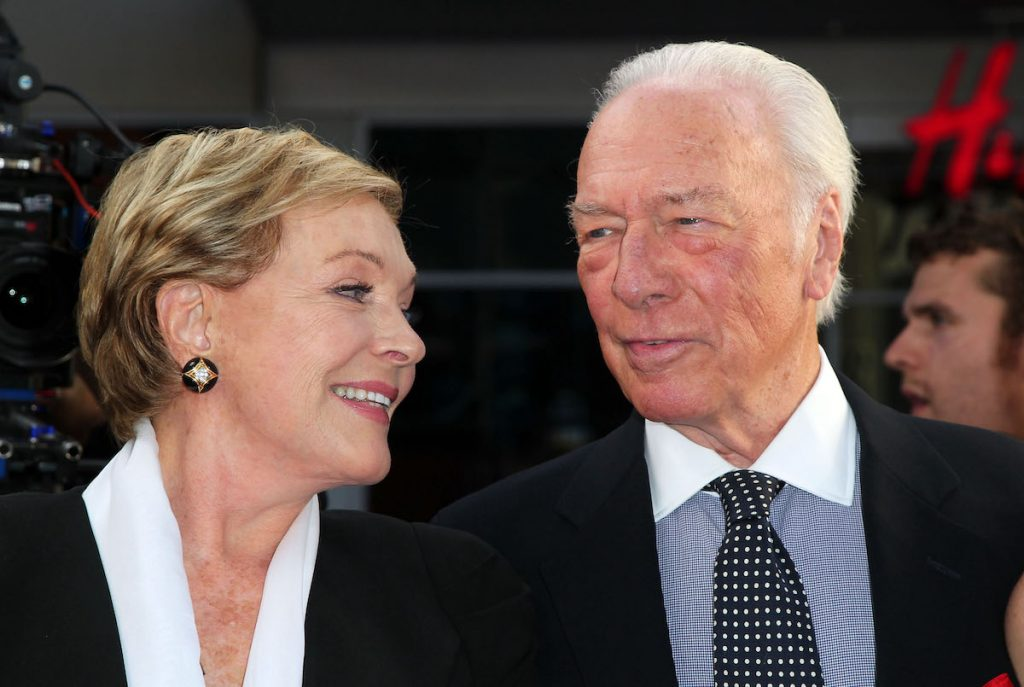"""Julie Andrews and Christopher Plummer attend the 2015 TCM Classic Film Festival opening night gala 50th anniversary screening of """"The Sound Of Music"""" at TCL Chinese Theatre IMAX on March 26, 2015 in Hollywood, California   David Buchan/Getty Images"""
