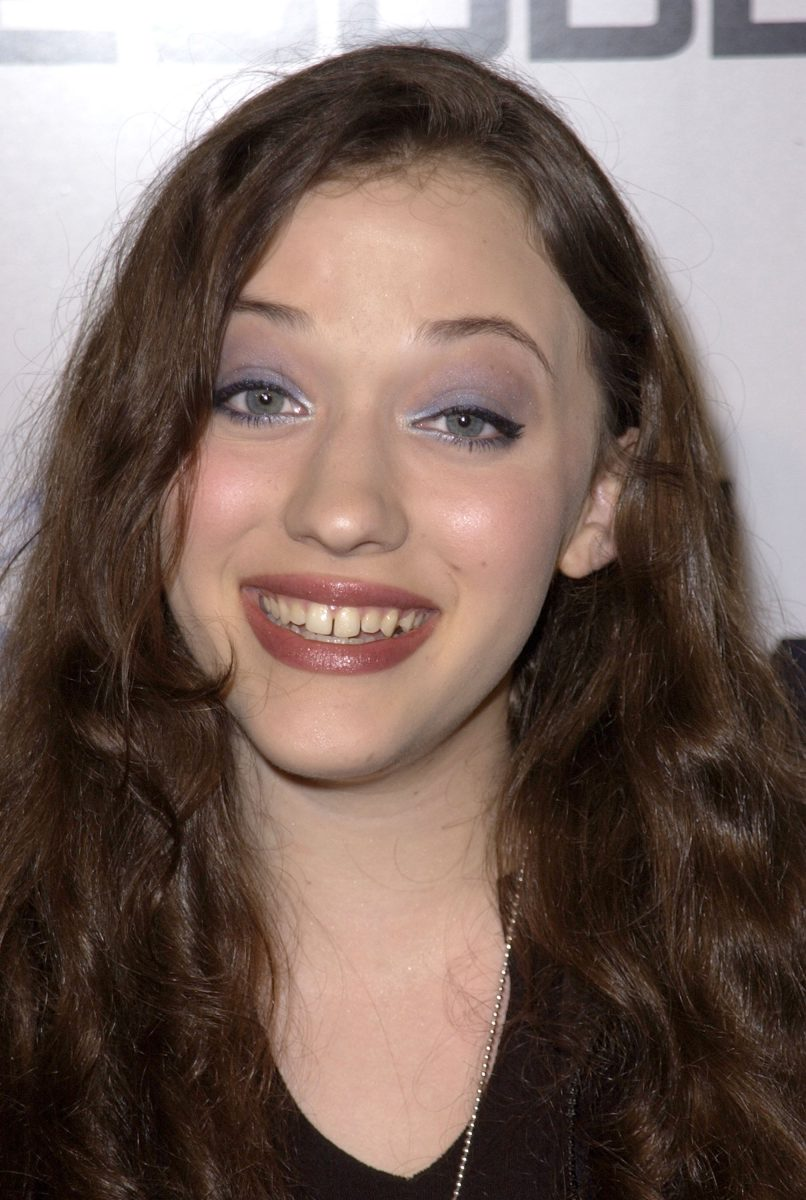 Kat Dennings during the Nintendo Game Cube Premiere Party in 2001