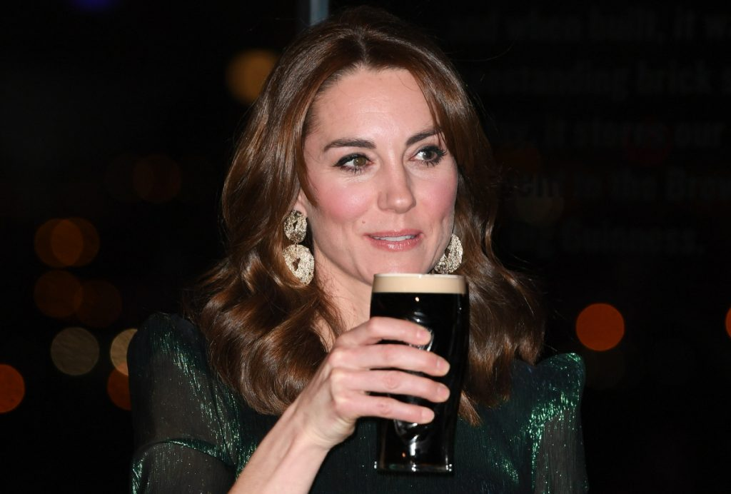 Kate Middleton Guinness