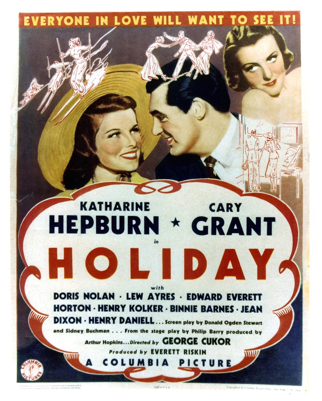 Katharine Hepburn and Cary Grant in 'Holiday'