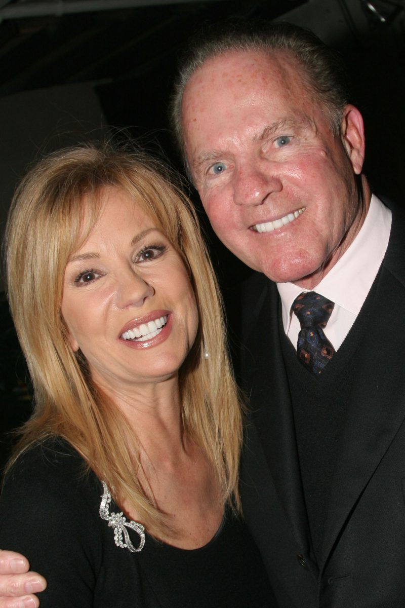 Kathie Lee Gifford and Frank Gifford attend a party for 'Under the Bridge'