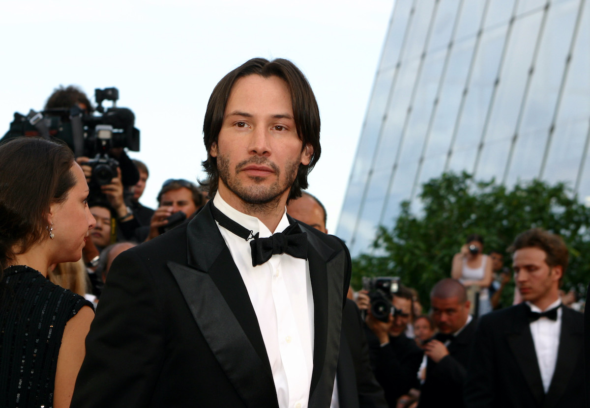 Keanu Reeves during the 2003 Cannes Film Festival