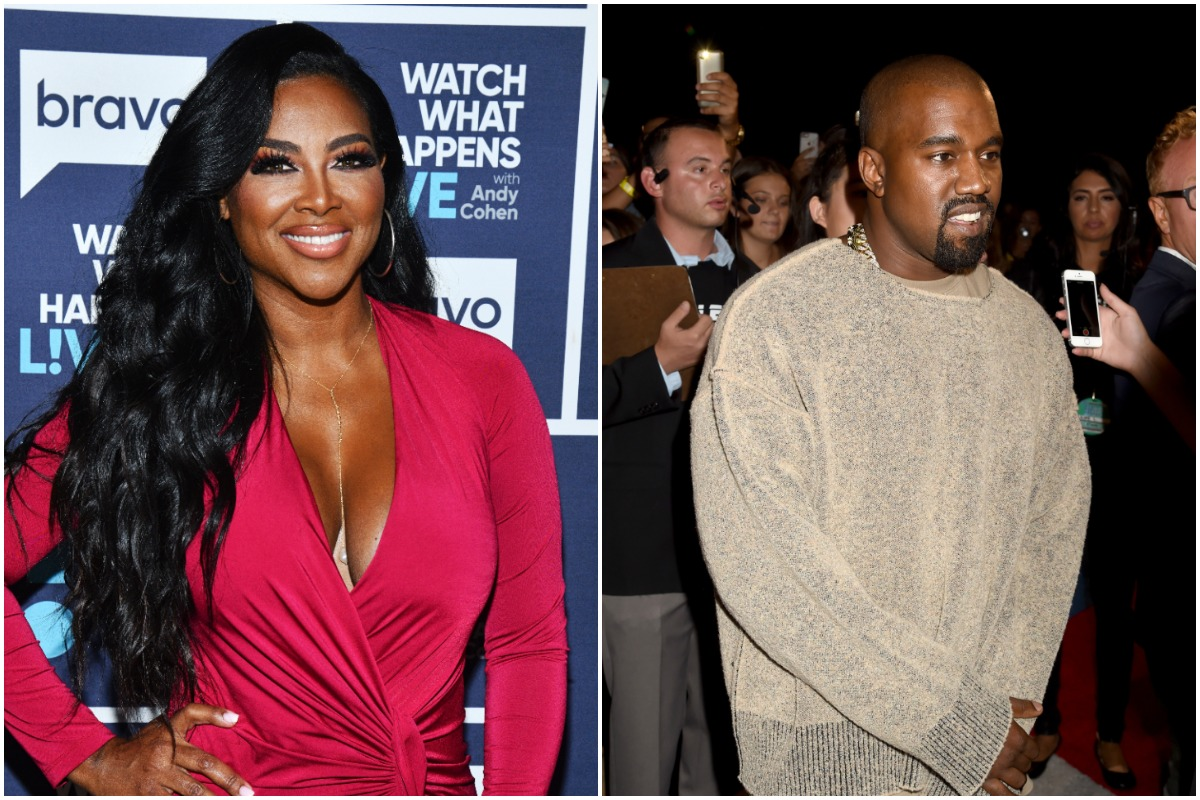 WATCH WHAT HAPPENS LIVE WITH ANDY COHEN -- Episode 16204 -- Pictured: Kenya Moore/AUGUST 30: Recording artist Kanye West attends the 2015 MTV Video Music Awards at Microsoft Theater on August 30, 2015 in Los Angeles, California.