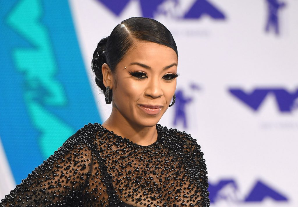 Keyshia Cole attends the 2017 MTV Video Music Awards at The Forum on August 27, 2017 in Inglewood, California | C Flanigan/Getty Images