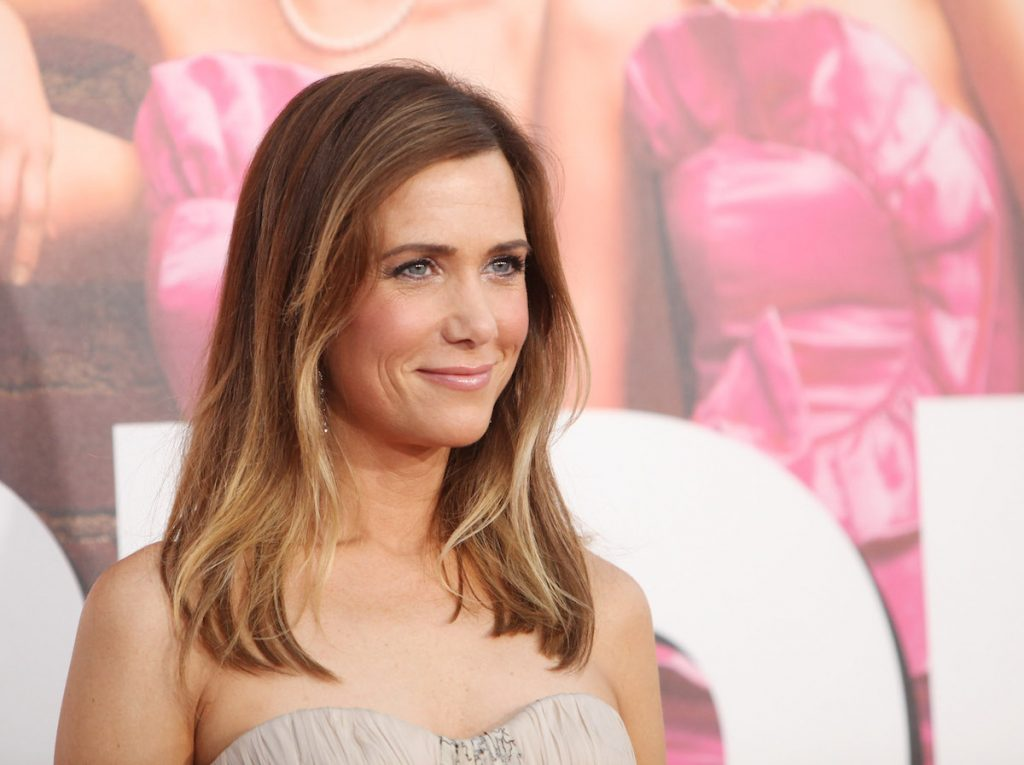 """Kristen Wiig arrives at the Los Angeles premiere of """"Bridesmaids"""""""