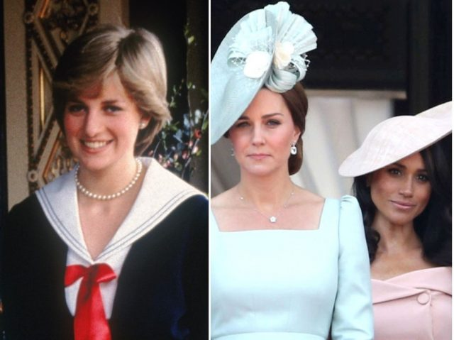 The Facial Mark You Never Knew Princess Diana, Meghan Markle, Kate Middleton and Queen Elizabeth All Have