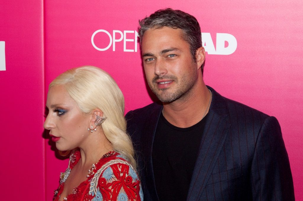 Lady Gaga with Taylor Kinney | Lars Niki/Corbis via Getty Images