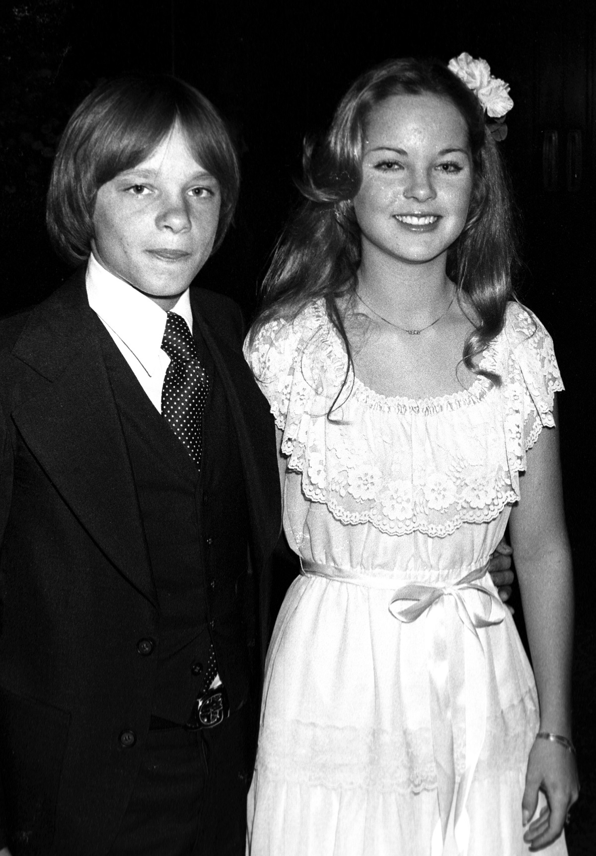 Melissa Sue Anderson and Lance Kerwin in 1977