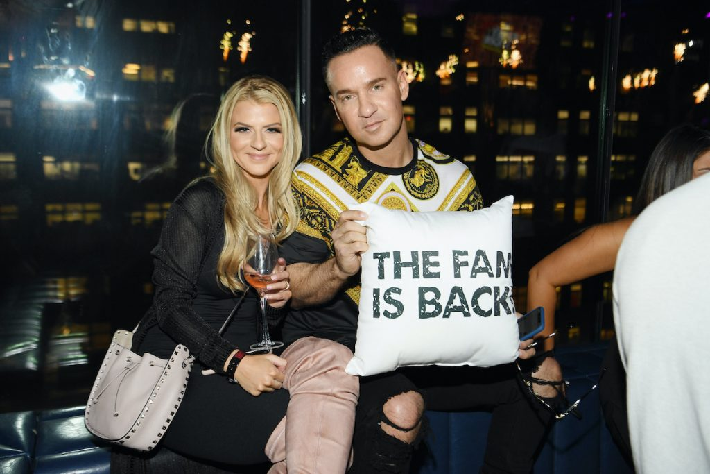 Lauren Sorrentino and Mike 'The Situation' Sorrentino