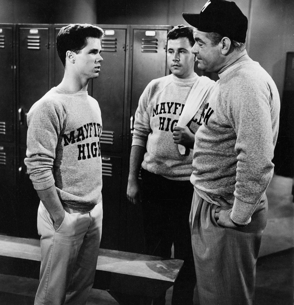 Tony Dow, Frank Bank, and John Close on 'Leave It to Beaver'