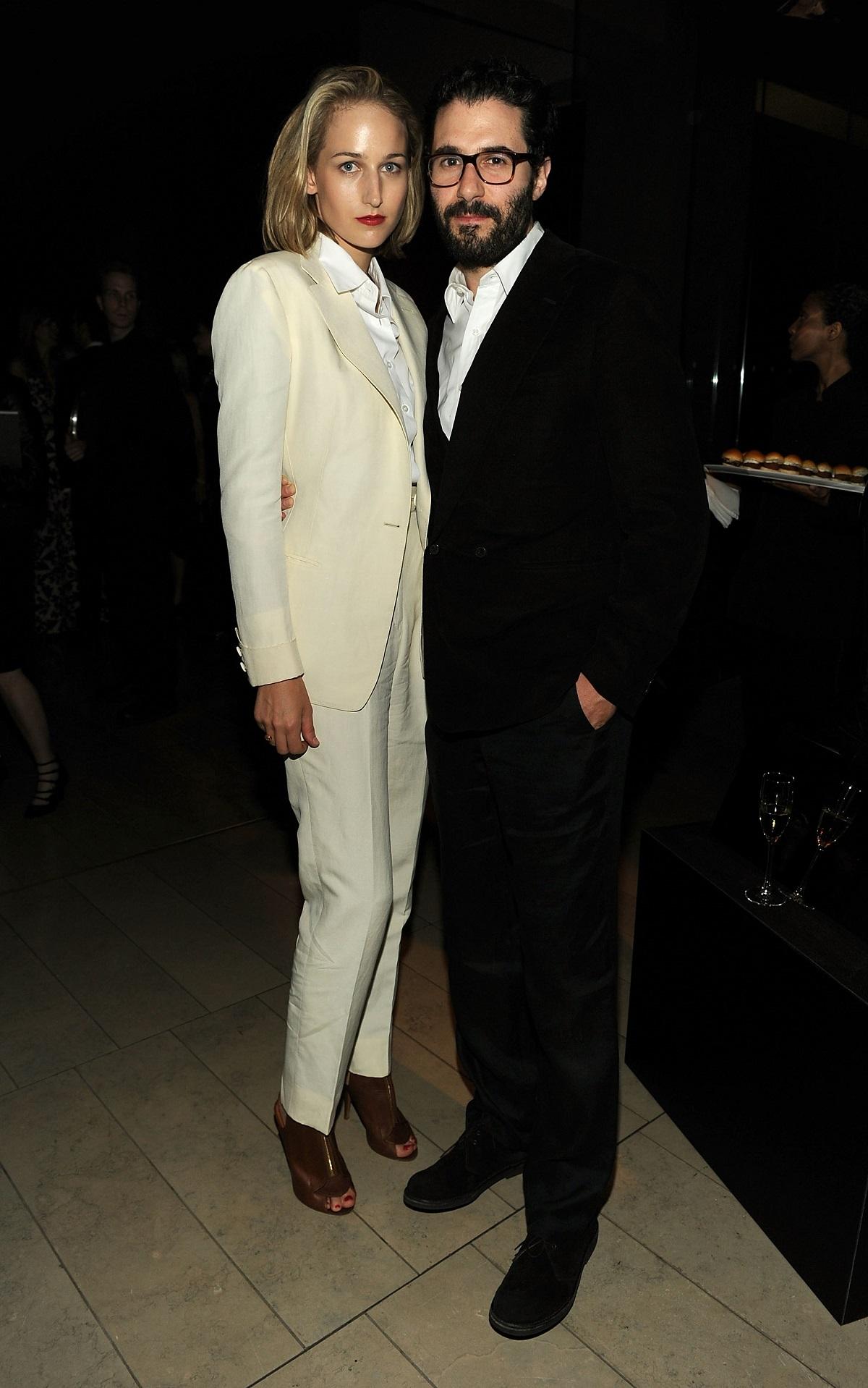 Leelee Sobieski and her husband Adam Kimmel in 2011