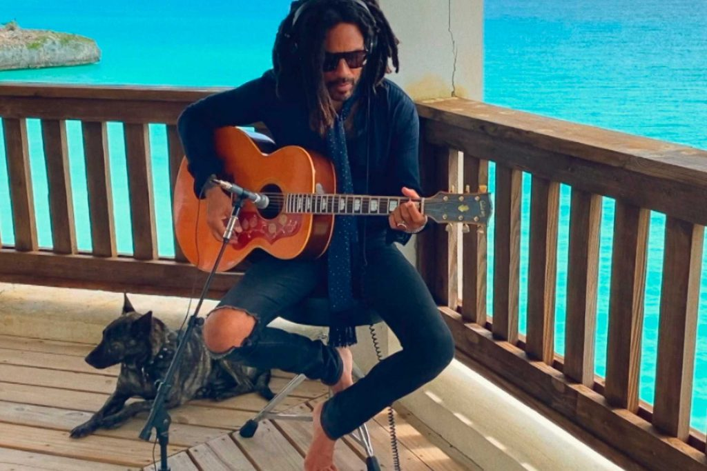 Lenny Kravitz in the Bahamas | NBC/NBCU Photo Bank via Getty Images
