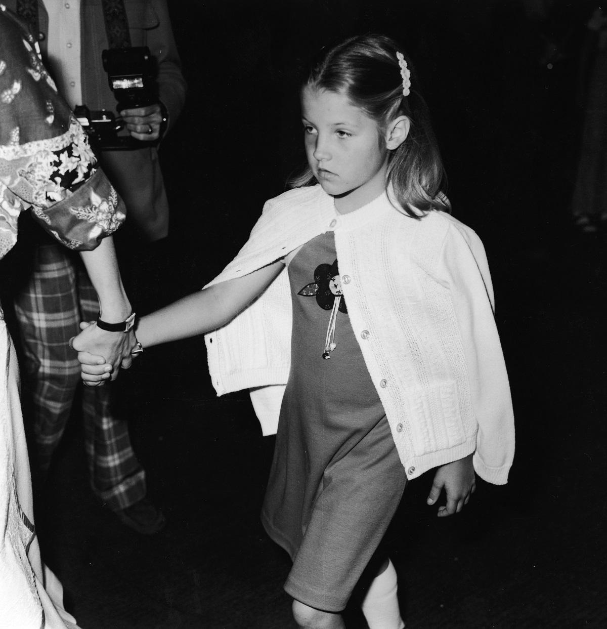 Lisa Marie Presley in 1977