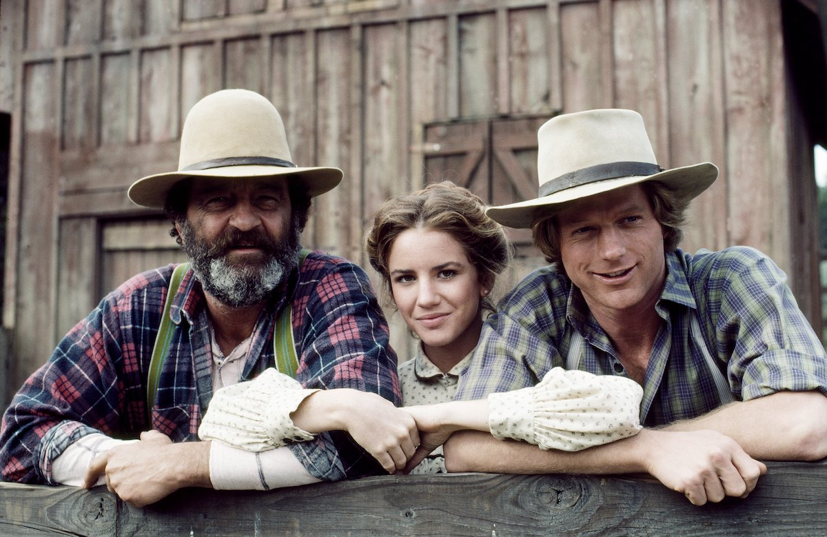 'Little House on the Prairie' stars Victor French, Melissa Gilbert, and Dean Butler