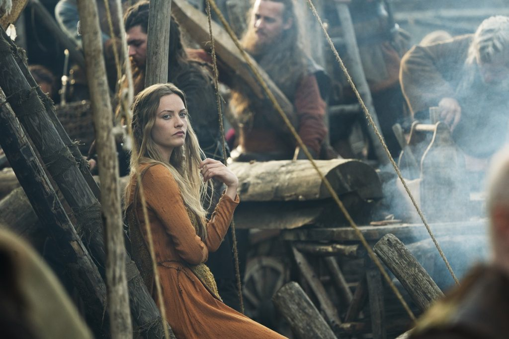 Lucy Martin in 'Vikings'