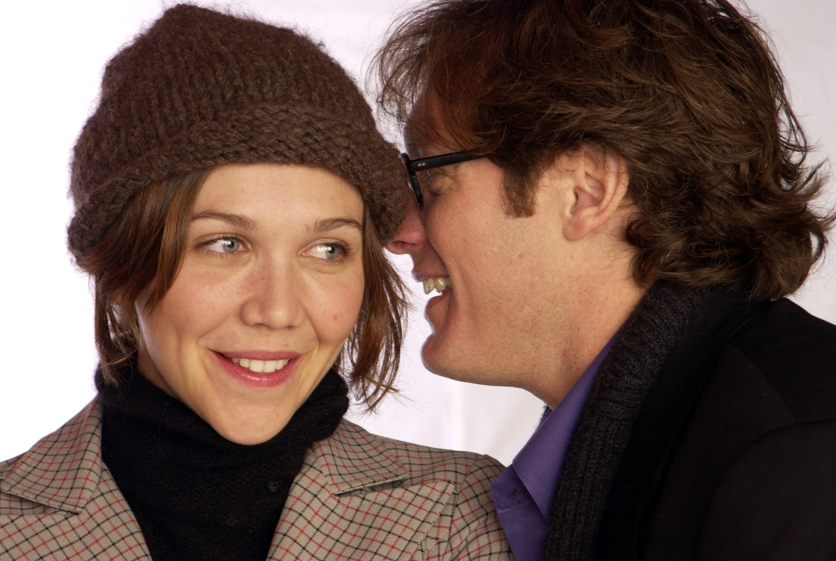 Maggie Gyllenhaal and James Spader