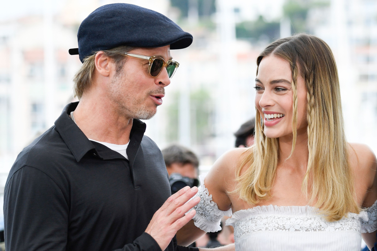 Margot Robbie Brad Pitt