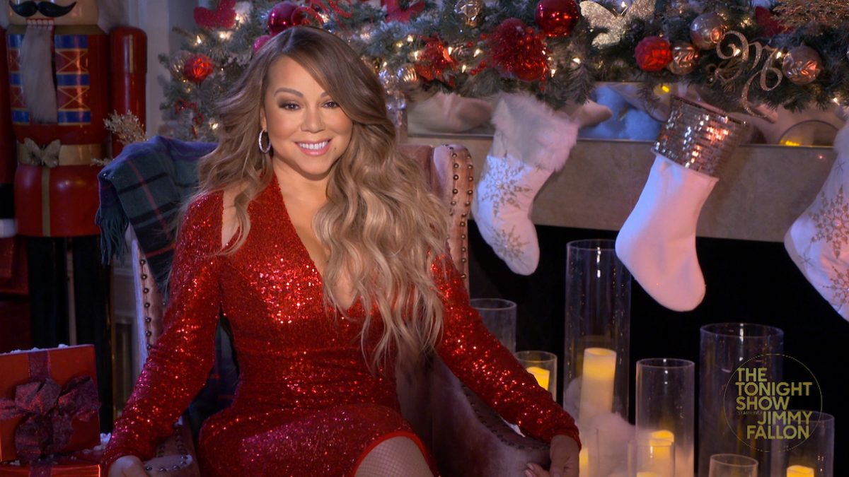 Mariah Carey on 'The Tonight Show Starring Jimmy Fallon'