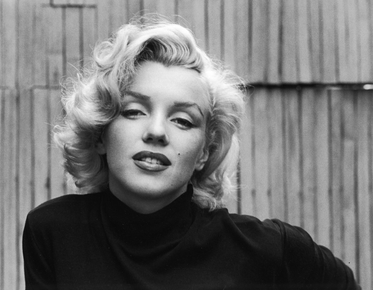 Marilyn Monroe in promotional photos