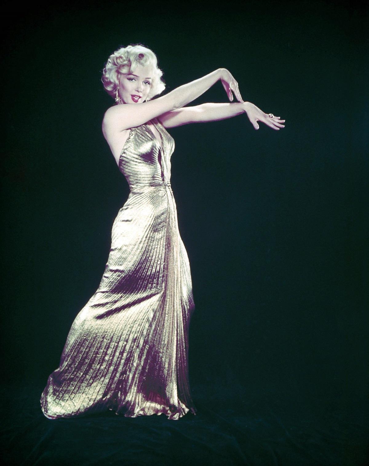 """Marilyn Monroe in """"Gentlemen Prefer Blondes'"""