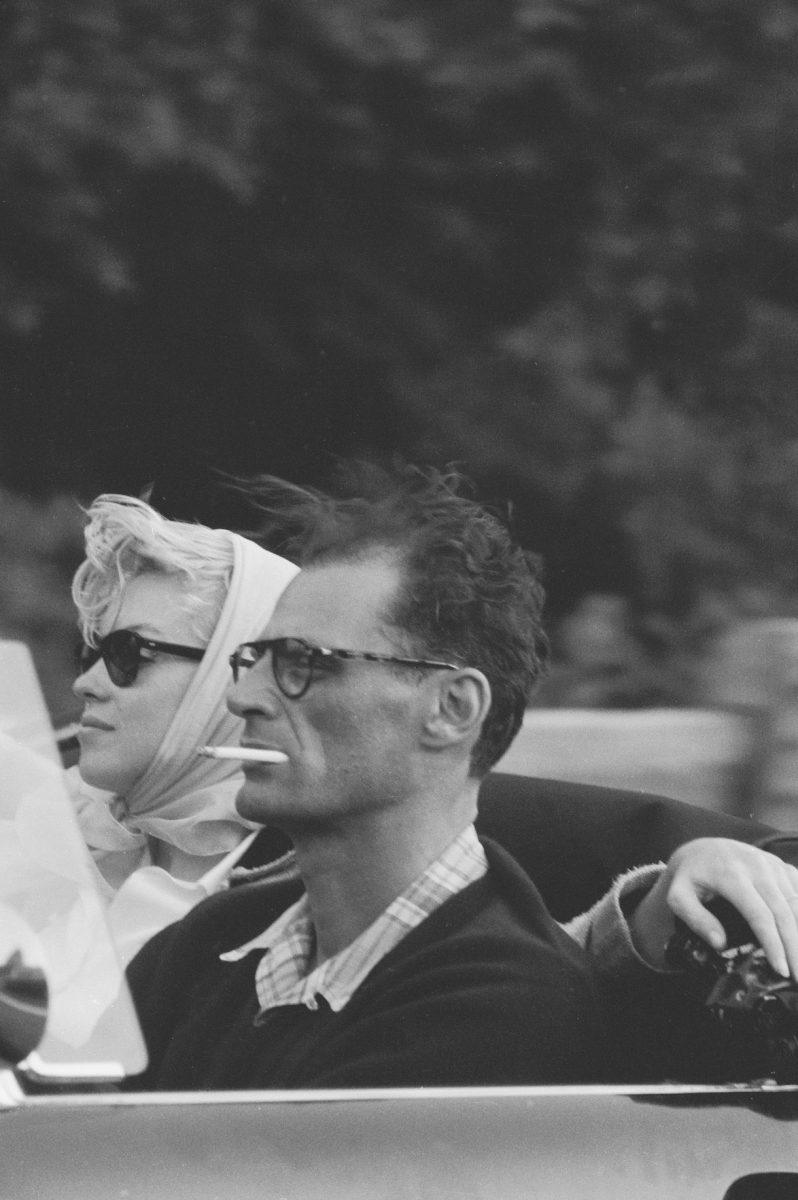 Marilyn Monroe and American playwright Arthur Miller