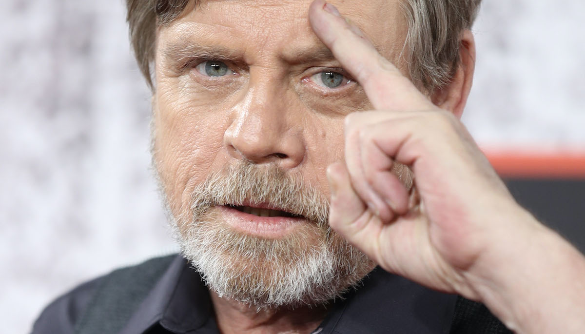 Mark Hamill at the 'Star Wars: The Last Jedi' photocall
