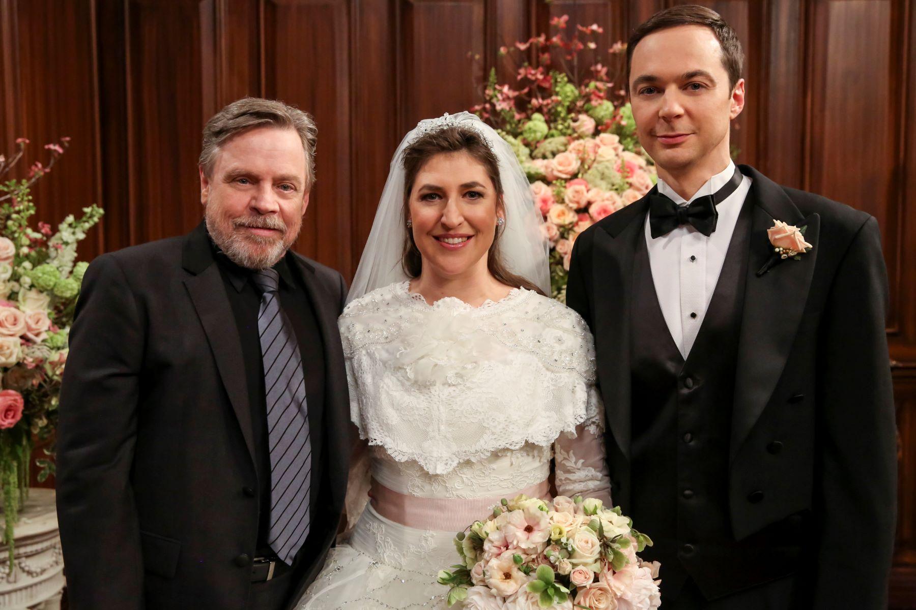 'Star Wars' star Mark Hamill, Mayim Bialik, and Jim Parsons on 'The Big Bang Theory'