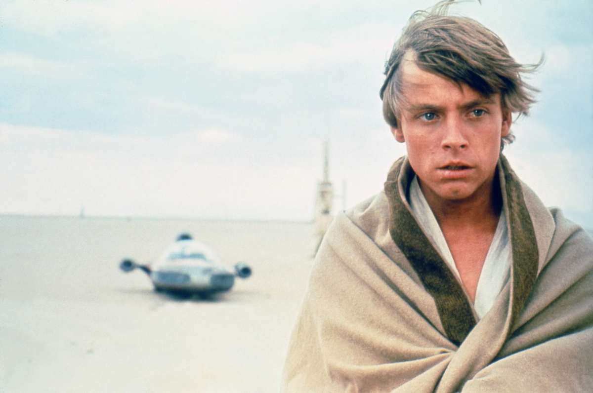 Mark Hamill in 'Star Wars: Episode IV -- A New Hope'