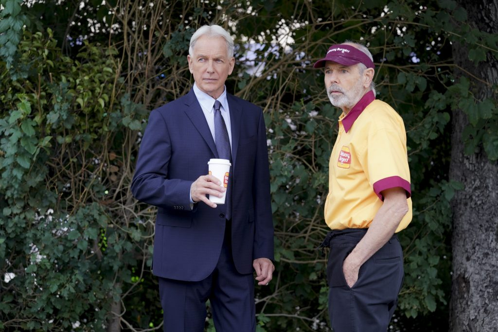 Mark Harmon as NCIS Special Agent Leroy Jethro Gibbs and Joe Spano as Tobias T.C. Fornell   Sonja Flemming/CBS via Getty Images