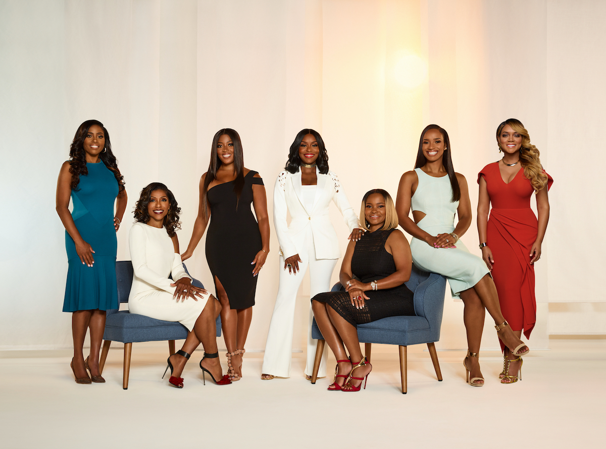 Simone Whitmore, Jacqueline Walters, Toya Bush-Harris, Quad Webb Lunceford, Heavenly Kimes, Contessa Metcalfe, Mariah Huq