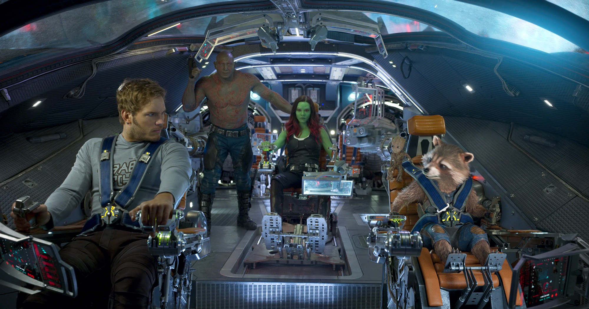 Marvel movie Guardians of the Galaxy cast