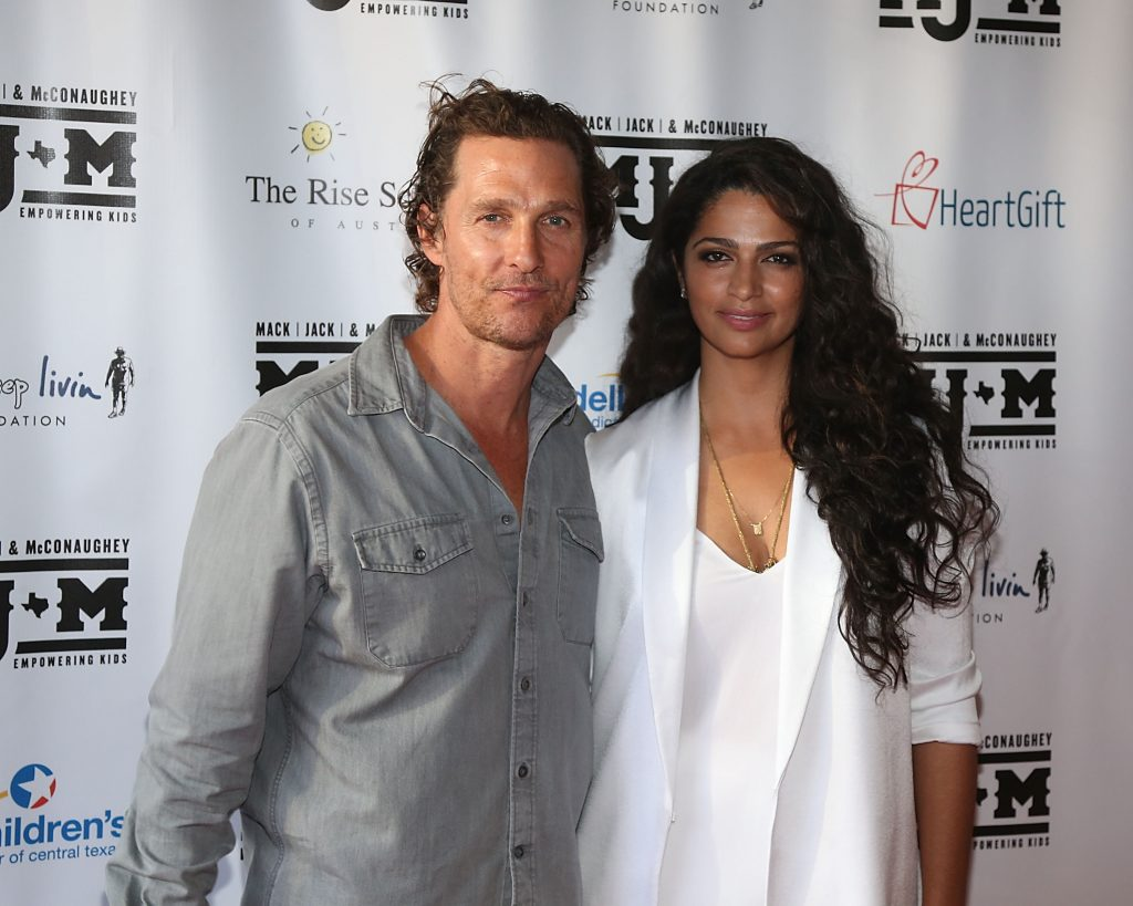 Matthew McConaughey and Camila Alves   Gary Miller/Getty Images