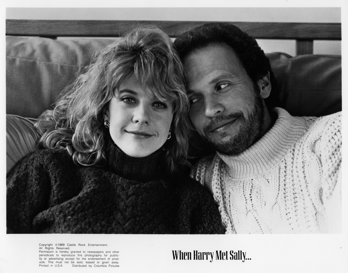 Meg Ryan and Billy Crystal in the poster for 'When Harry Met Sally'