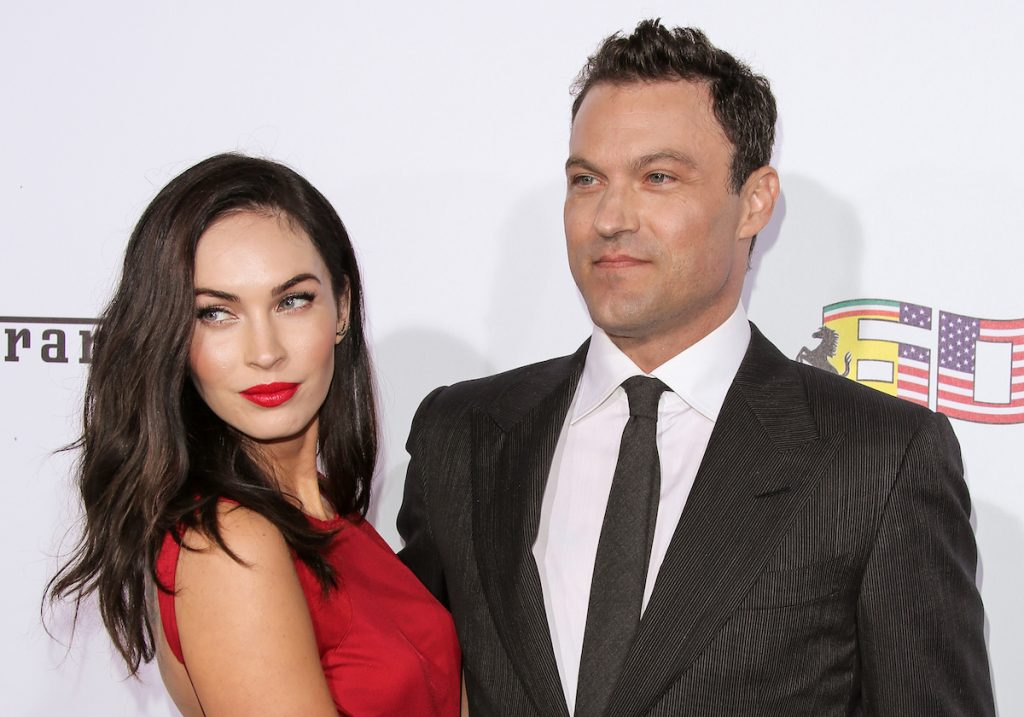Megan Fox and Brian Austin Green attend Ferrari's 60th Anniversary In The USA Gala at the Wallis Annenberg Center for the Performing Arts on October 11, 2014   Paul Archuleta/FilmMagic