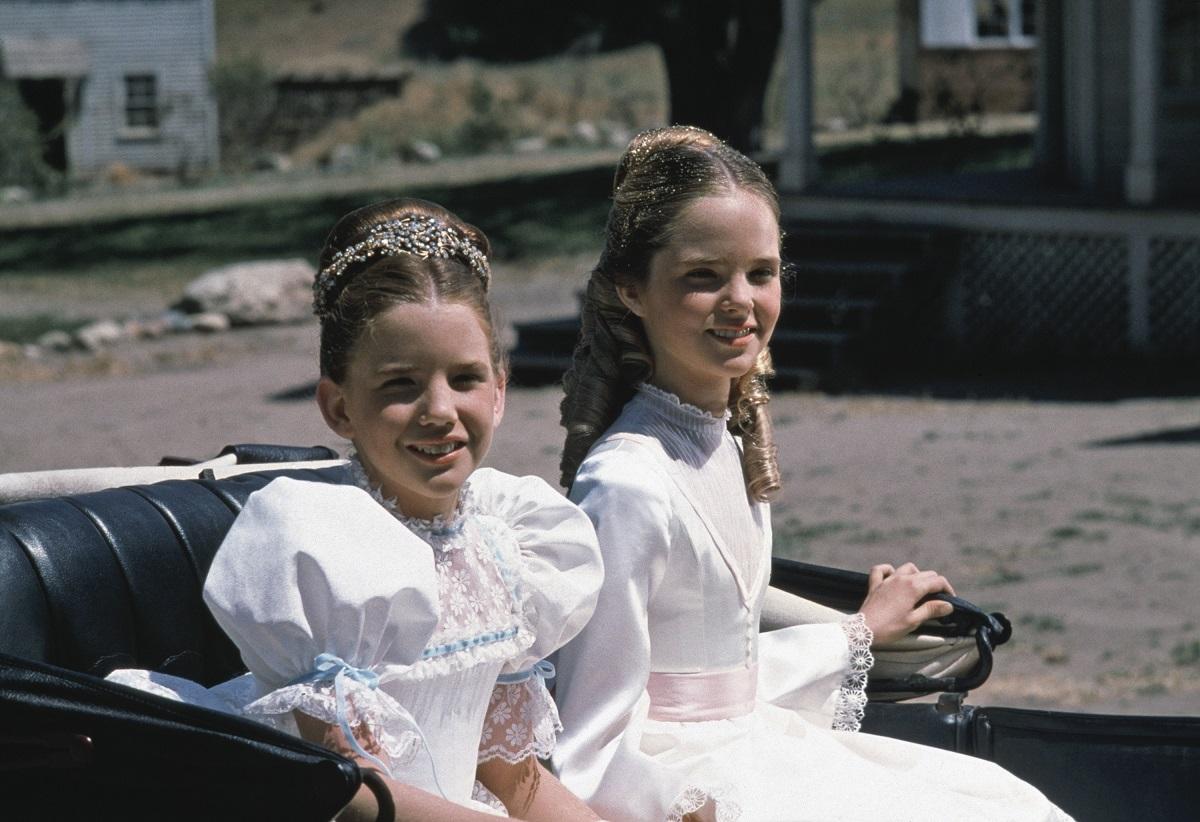 Melissa Gilbert and Melissa Sue Anderson