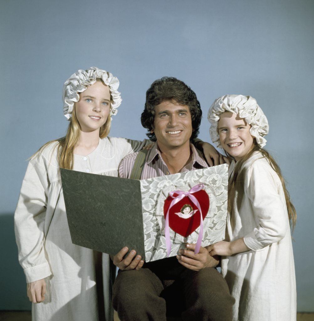 Melissa Sue Anderson, Michael Landon, and Melissa Gilbert of 'Little House on the Prairie'