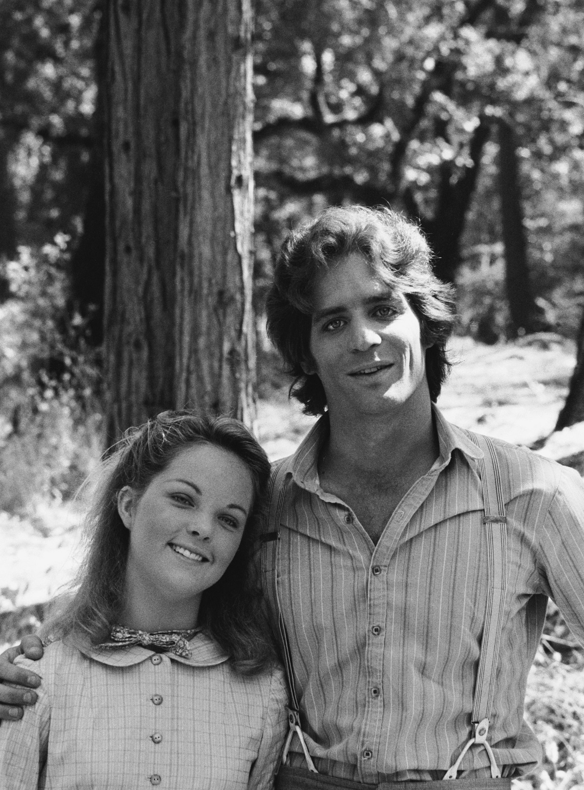 Melissa Sue Anderson and Linwood Boomer