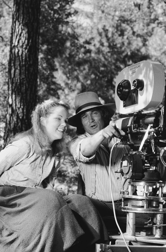 Melissa Sue Anderson and Michael Landon of 'Little House on the Prairie'