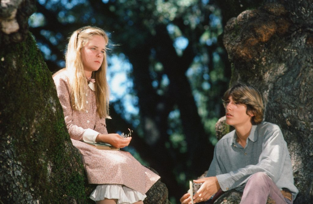 Melissa Sue Anderson and Radames Pera of 'Little House on the Prairie'