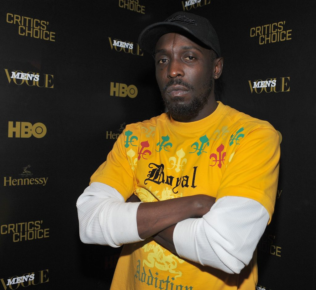 Michael Kenneth Williams attends an event for 'The Wire'