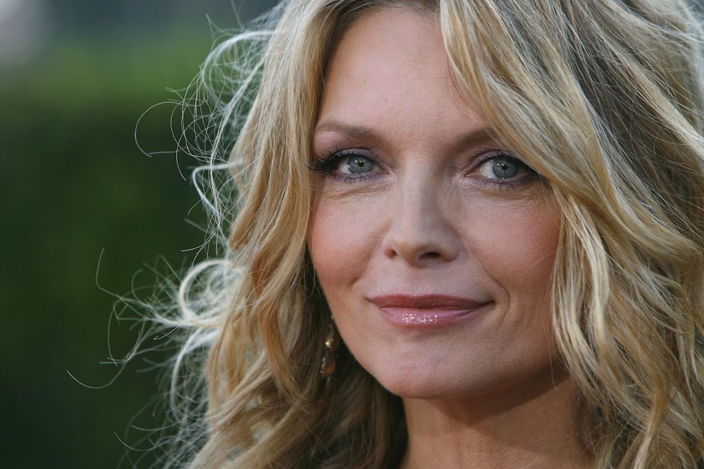 "Michelle Pfeiffer arrives at the premiere of Paramount Pictures' ""Stardust"" at the Paramount Studio Theater July 29, 2007 in Los Angeles, California."