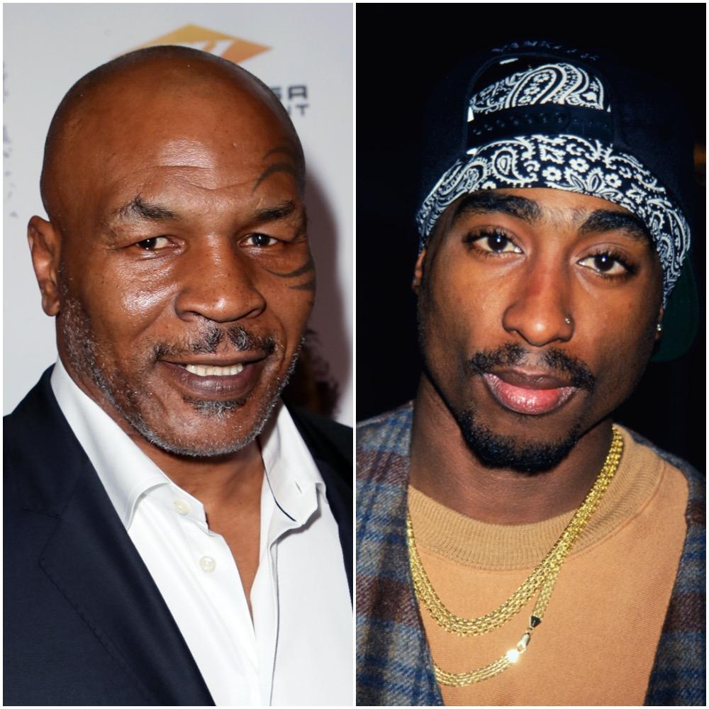 Mike Tyson and Tupac Shakur